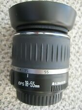 Canon EFS 18-55mm lens 1:3.5-5.6 with Hood