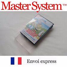 Protection transparente boite jeu SEGA Master System - protector case box sleeve