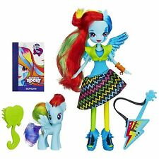 My Little Pony Equestria Girls Rainbow ROCKS Bambola & Pony Rainbow Dash Chitarra Set