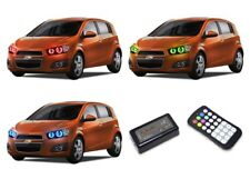 for Chevrolet Sonic 12-16 RGB Multi Color M7 LED Halo kit for Headlights