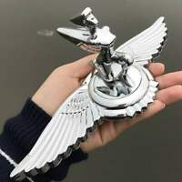 Chrome Metal Nymph Wing Goddess Eagle Car Hood Ornament Emblem Badge Sticker