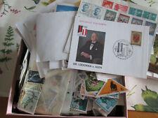 Lot Briefmarken alle Welt, gestempelt