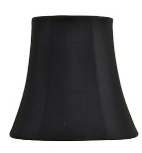 """Allen + Roth Extra Small Black Lamp Shade 3.25""""x 5.25""""x 5"""" Brand New⭐"""