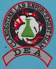 DEA DRUG ENFORCEMENT ADMINISTRATION CLANDESTINE LAB TEAM PATCH