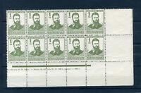 BULGARIA 1926 Mi 196**(x10),Error color stamps,RRR