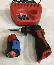 For Parts Milwaukee 2488-20 M12 Cordless Soldering Iron Battery Charger