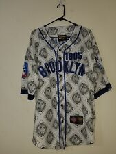 Vintage Crossover Negro League Brooklyn Royal Giants Baseball Jersey Size XL
