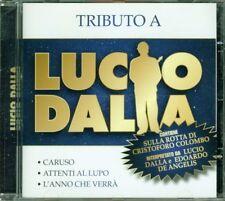 Lucio Dalla - Tributo A Lucio (Sulla Rotta Di Colombo Dalla/De Angelis) Cd Mint