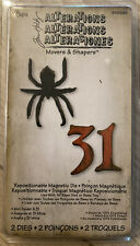 Sizzix Tim Holtz Alterations Movers & Shapers Spinne 31  Halloween Magnet Spider