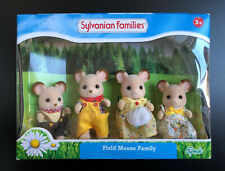 Sylvanian Families Field Mouse Family BNIB Retired UK Calico Critters