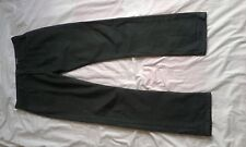 """Homme Pull and Bear Vert Coupe Droite Noir Jeans Taille 34"""" Jambe 33"""""""