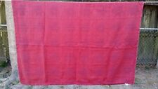 "Red Christmas Poinsettia Plaid Rectangle 60""X46"" Tablecloth Free Shipping"