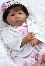 "FREE SHIP BRAND NEW in Box 22"" Asian Lifelike Reborn Baby Girl Doll Reborn"