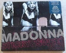 MADONNA Sticky & Sweet CD/DVD SOUTH AFRICA Cat#WBCD 2241 Incorrect Promo sticker