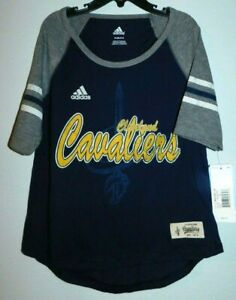 adidas nba4her Cleveland Cavaliers Girl's Small T Shirt,