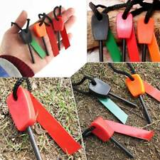 Emergency Camping Outdoor Mini Flint Magnesium Fire Starter Stick Rod Tool 10pcs