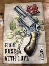 FROM RUSSIA WITH LOVE - IAN FLEMING 1957 BOOK CLUB HARDBACK JAMES BOND 007
