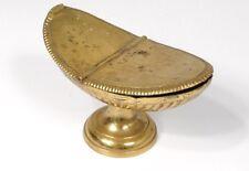 Navette encensoir laiton doré église messe XIXème siècle