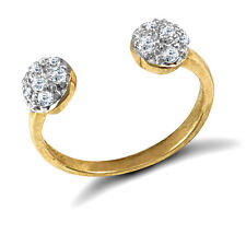 Toe Ring Erin Rose Jewel Co 9Ct Gold Cubic Zirconia Torque Style