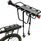 110lb Rear Bike Rack Bicycle Cargo Rack Pannier Luggage Carrier Holder Seat Fram