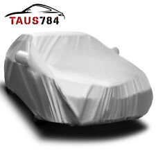 16ft Full Car Cover Water Rain Sun Resistant Universal Car Protector Fit Sedan