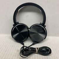Sony Extra Bass On Headphones with Acoustic Bass Booster Black Tested