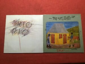 2 Lp  1 Maxi Sammlung Trio Rio ,  Krautrock