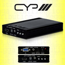 CYP PC Analogue to HDMI Full HD 1080p Video Upscaler/Converter w/ Audio SY-P293