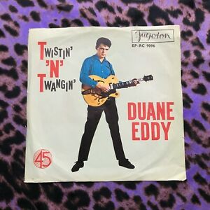 "Duane Eddy – Twistin' 'N' Twangin' 7"" Vinyl 45RPM - Rock & Roll - Jugoton"