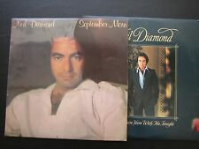 Set of 2  NEIL DIAMOND I'm Glad You're Here with Me Tonight & September Morn