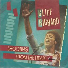 """7"""" Cliff Richard Shooting From The Heart / Small World 1984 EMI Electrola"""