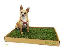 Real Grass Dogs Potty Mat Box Training Sod Portable Disposable Indoor Pad House