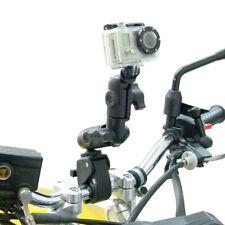 RAM Tough-Claw Handlebar Mount & Double Socket Swivel Arm for GoPro Hero Camera