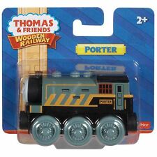 Fisher Price Thomas & Friends WOODEN RAILWAY Train Porter 100% Authentic Wood