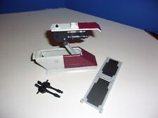 Star Wars TCW Republic Attack Shuttle Ramp Top Hatch Cannon + Parts lot FREE S/H