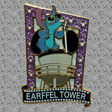 Stitch on Earffel Tower Pin - Invasion Series - (Earfull) Disney - DLP - LE 1200