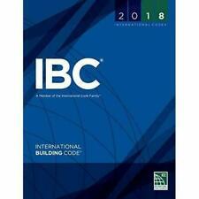 2018 International Building Code International Code Council Series IBC BRAND NEW