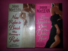 PL019 BOOKS BY SARAH MACLEAN, NINE RULES & ELVEN SCANDALS
