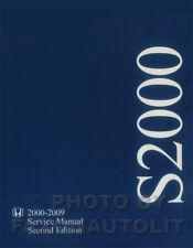 NEW in Wrap Original Honda S2000 Shop Manual 2000-2009 2008 2007 2006 Service