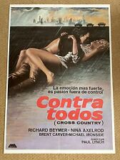 CROSS COUNTRY Film Movie Poster RICHARD BEYMER NINA AXELROD MICHAEL IRONSIDE