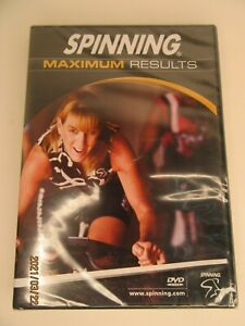 NEW Spinning Maximum Results Indoor Cycling DVD  Sealed