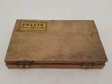 Set of Presto Taps & Dies in Damaged Box 31783