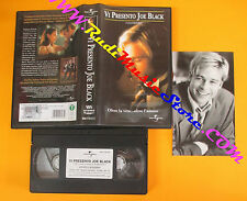 VHS film VI PRESENTO JOE BLACK Brad Pitt UNIVERSAL 044 716-3 01 (F108)no dvd