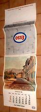 CALENDARIO ESSO 1966  Opere pittori : Utrillo Monet Rousseau Gauguin Pissarro *