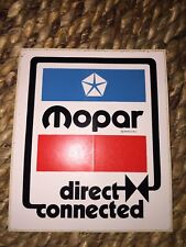 Vintage MOPAR Direct Connection Racing Decal 1970s Sox Martin Special Part Hemi