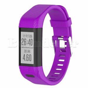 Silicone Replacement Band Bracelet Wristband Strap For Garmin Vivosmart HR+ Tool
