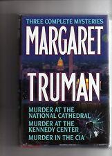 Margaret Truman: Three Complete Mysteries Truman, Margaret HC DJ Free Ship