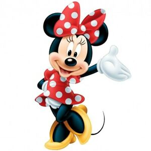 """4 Minnie Mouse vinyl decal stickers 2.5""""  MATTE FINISH"""