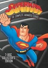 Superman The Complete Animated Series 8 Discs (2009 Region 1 DVD New)