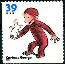 Curious George Scarce Mint MNH US Postage Stamp Scott's 3992